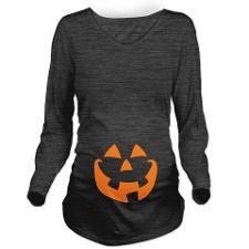 Halloween Long Sleeve Maternity T-Shirt $38