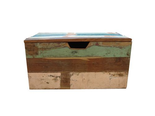 Stoere sloophout speelgoedkist | Evenaar | Klein & Stoer webshop