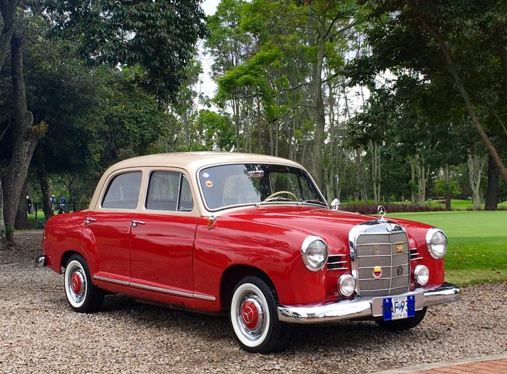 Mercedes 180 c (W 120) 1962. E-Class. Photo Jorge A Medellín. MBenz.expert