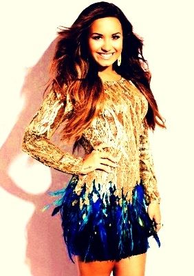 I love Demi Lovato. She's so beautiful and strong. She saved me. AND SHE HAS A BIIIGGG BOOTY.