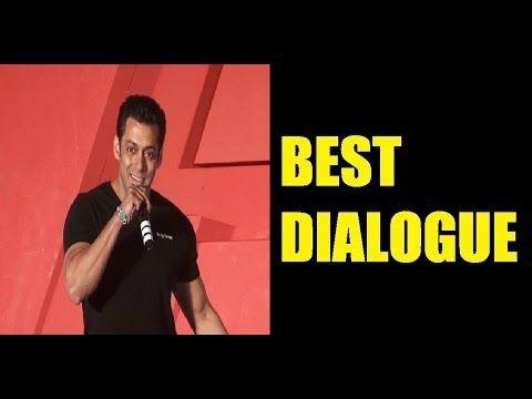 Salman Khan's SUPERHIT DIALOGUE from HUM AAPKE HAIN KOUN.
