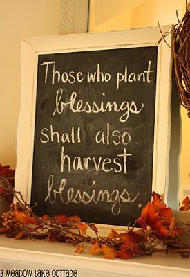 Image result for Fall blessings inspiration
