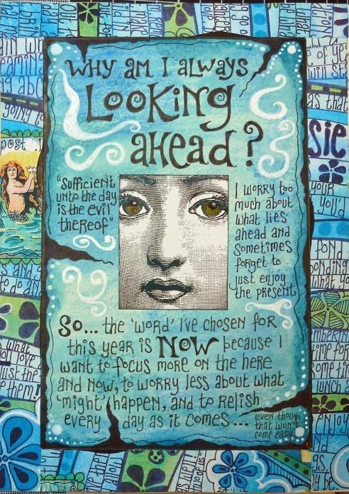 Rosie's Arty Stuff: JOURNAL PAGES