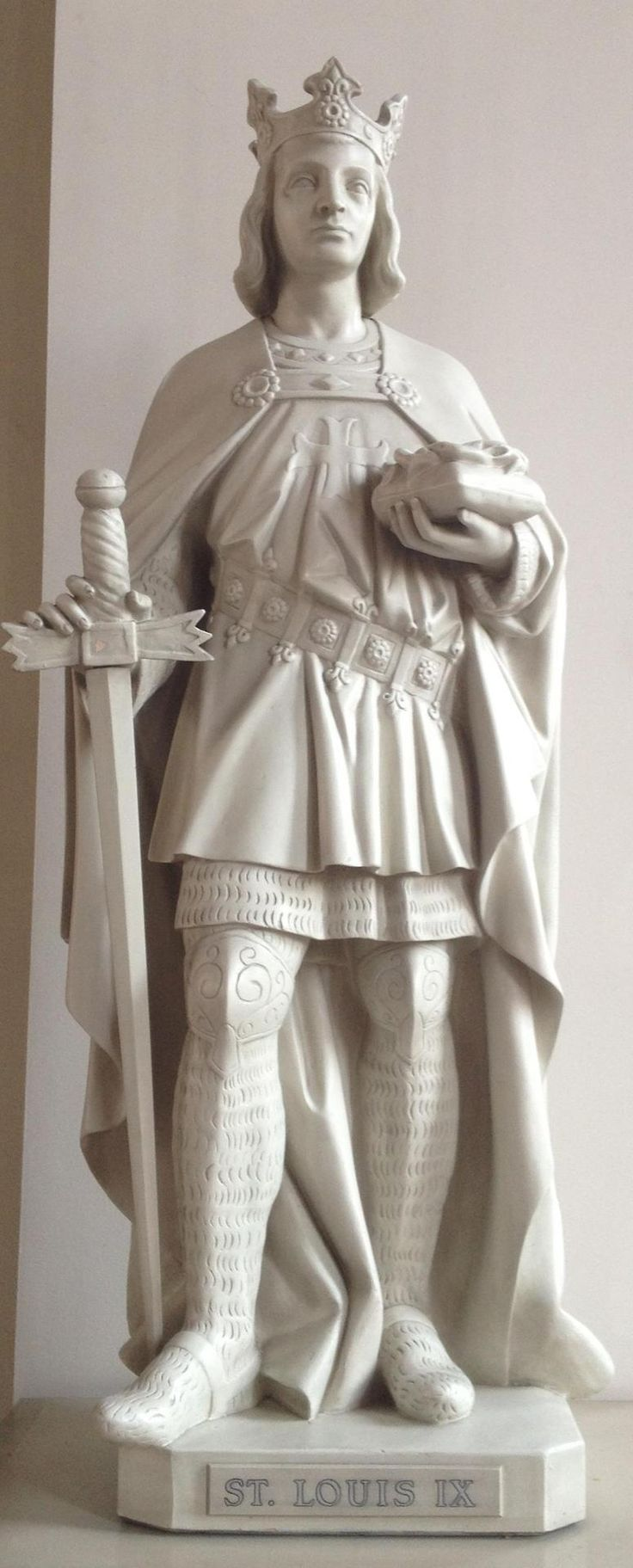 August 25 is the feast day of Saint Louis IX, King of France