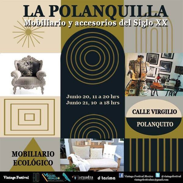@VintageFestival expo #LaPolanquilla en Polanco Junio 20-21 2015