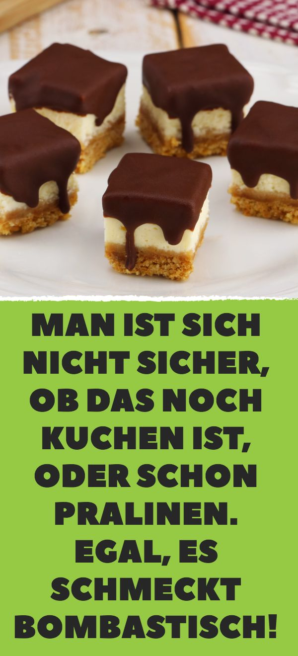 It is not sure if this is still cake, or even chocolates. No matter, it …   – Kuchen