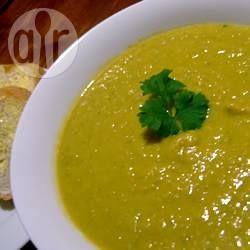 Pumpkin, Leek and Sweet Potato Soup @ allrecipes.co.uk