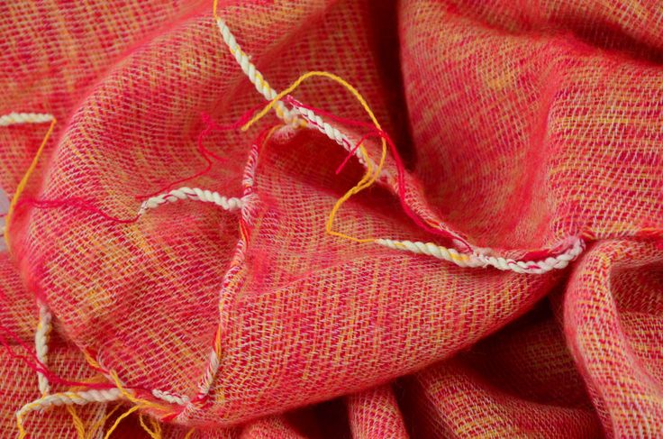 Juicy Pink & Yellow melange! - Mayalu Nepalese Handmade Shawls by…