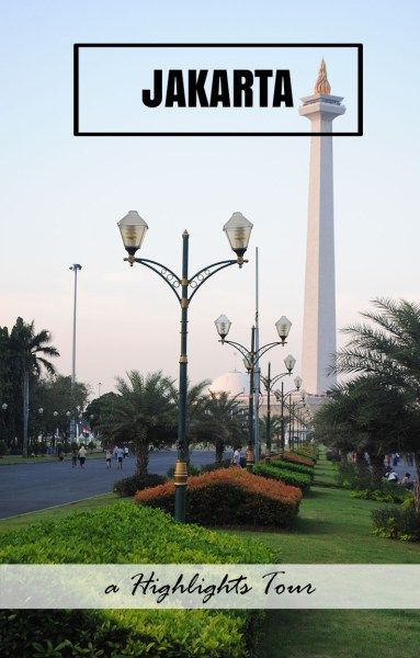 The Indonesia National Monument (or Monas) - the centrepiece of Jakarta…