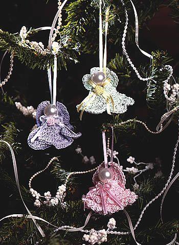 crochet pattern - angel bells