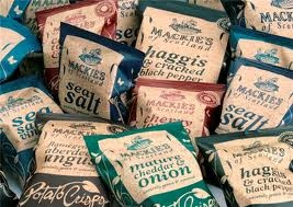 Mackies of Scotland Crisps - Tasty goodies included in Highland Fayre Scottish Hampers