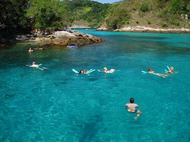 Enseada Saco do Céu - Ilha Grande - Rio de Janeiro - Brasil  *Ilha Grande, meu paraíso