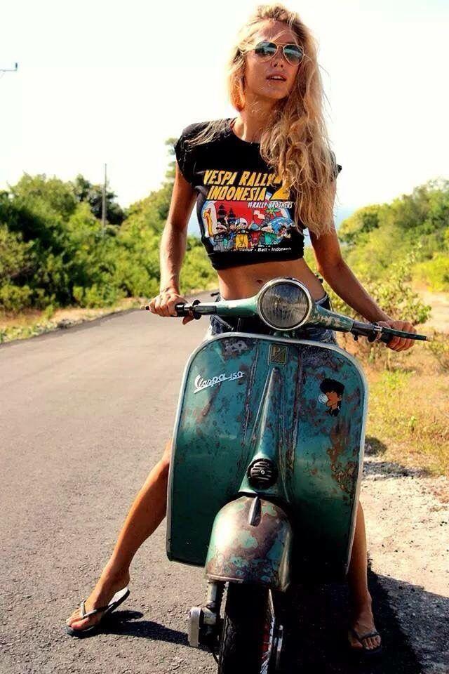 25+ best ideas about Vespa Girl on Pinterest | Vespa, Vespa ...