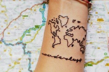 19 Tattoos That Literally Everyone Got In 2014---- I love the teeny tiny star  near the fingernail. Also, now that I know the meaning of the arrow, I kind of want one.