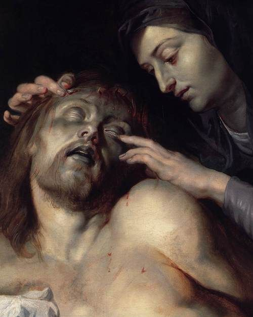 vapula:      RUBENS, Peter PaulLamentation over the Dead Christ (detail) 1613-14 Oil on canvas Liechtenstein Museum, Vienna