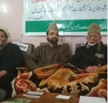 The JRL leaders Syed Ali Geelani, Yasin Malik and Mirwaiz Umar Farooq who head Hurriyat (G), JKLF and Hurriyat (M)
