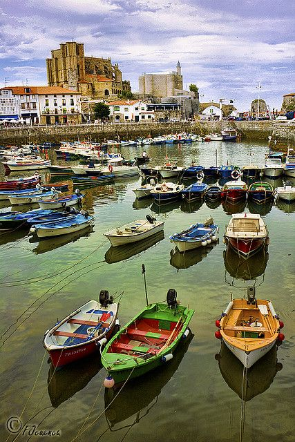 Castro Urdiales #Cantabria #Spain