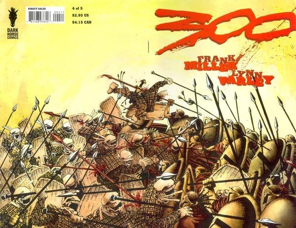 300 #4 - Cover: Frank Miller | Art Gallery: Comic Book ...