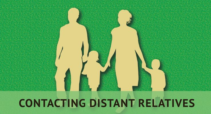 how to find distant relatives