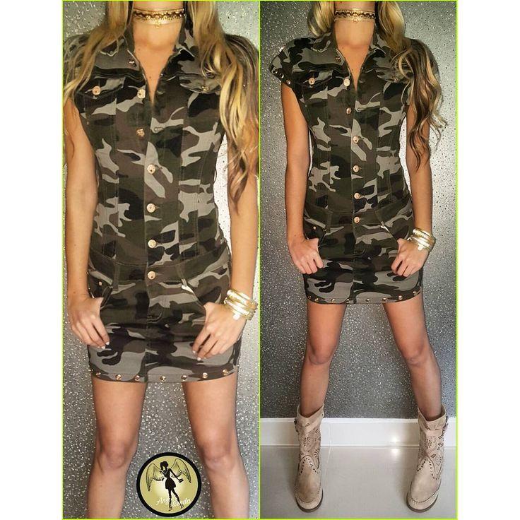 Vestido camuflado en tallas s m L y XL #instalike #trend #trendy #instalife #modafashion #bloggerstyle #blogge #lifestyle #like #fashionstiles #beautiful #shopping #luxury #medellin #bogota #pereira #bucaramanga #cali #panama #poblado #look #love
