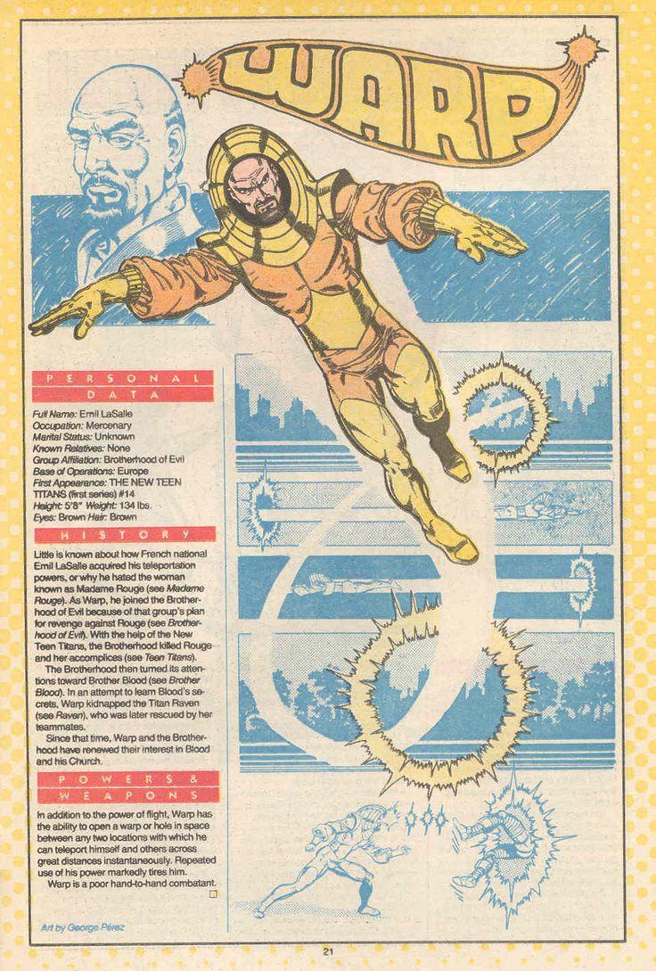 DC ennemi des Jeunes Titans