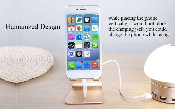 Bakeey™ Aluminum Alloy Adjustable Anti-slip Desktop Stand Charging Holder for iPad Phone Tablet
