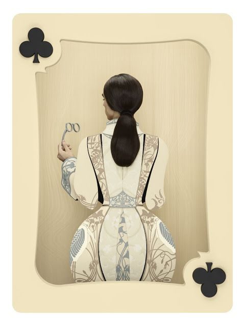 christian tagliavini Queen of Clubs. Photoshop geeks like to video chat about their art at https://createamixer.com/