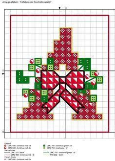 Raccolta di Schemi e grafici per Punto croce, gratis da scaricare : Schemi NATALE
