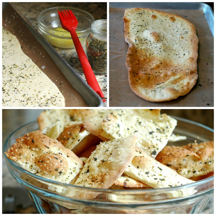 Savoring Time in the Kitchen: Herb and Sea Salt Flatbread ...