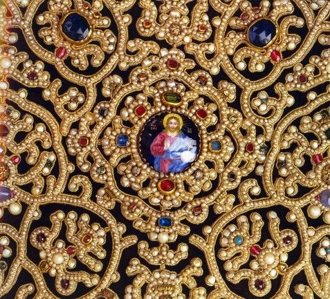 Традиционная русская вышивка жемчугом — Рукоделие