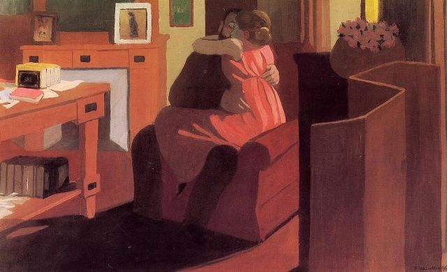 Vallotton_Interior_with_Couple_and_Screen_(Intimacy)