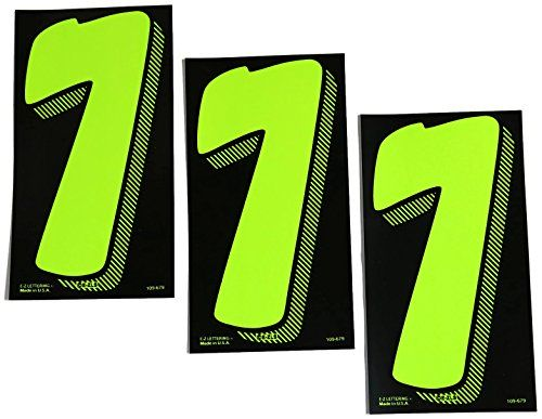 7 1/2 Green Chartreuse Pricing Numbers For Car Dealers 3 Dozen (36) 7s. For product info go to:  https://www.caraccessoriesonlinemarket.com/7-12-green-chartreuse-pricing-numbers-for-car-dealers-3-dozen-36-7s/