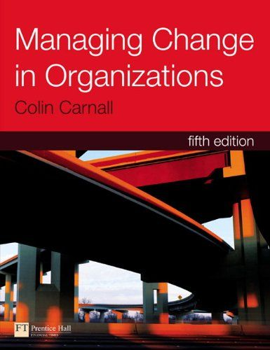 I'm selling Managing Change in Organizations (5th Edition) by Colin Carnall - $40.00 #onselz