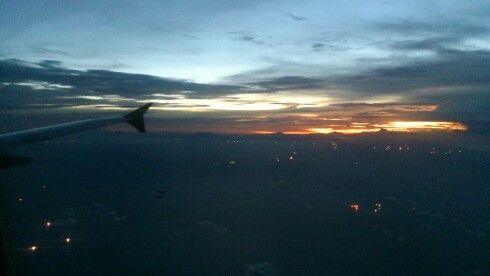 Another sunset from 33.000 ft