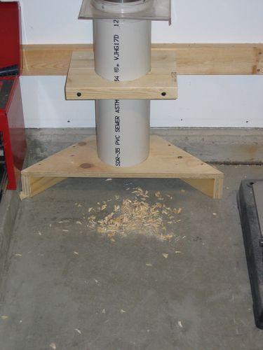 10 minute scrap plywood and PVC floor sweep. – by dbhost @ LumberJocks.com ~ woo… #WoodWorking