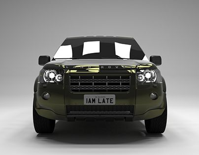 "Check out new work on my @Behance portfolio: ""Land Rover Freelander 2 TD4 