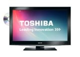 Toshiba 32DV502B 32-inch Widescreen HD Ready LCD TV with Freeview and Built-in DVD Player - Black (New for 2012)