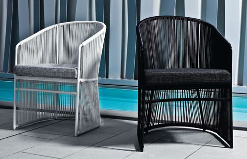 Tibidabo Dining Chairs by Varaschin, Italy I black or white l from www.casualife.com.au