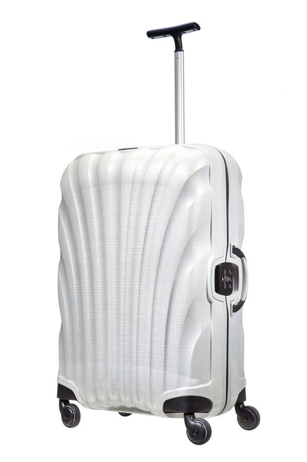 Samsonite Lite-Locked  Spinner 69cm Off white.