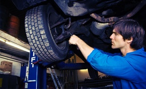 Groupon - $39 for a Tire Changeover and Four-Wheel Brake Inspection at Ace Automotive (57% Off) in Anchorage. Groupon deal price: $39.00