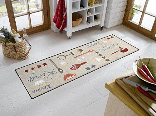 Sehr hochwertiger Küchenläufer kitchen Größe ca 60 x 180 cm - teppich läufer küche