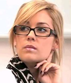 I have the same glasses as Lauren Conrad's, but her pair is Chanel & mine are Michael Kors.