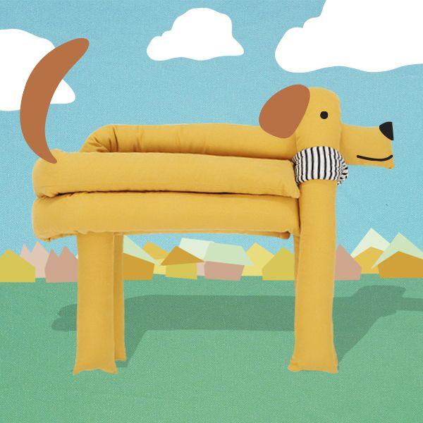 noodleplay puppy cushion