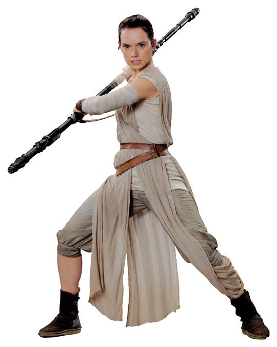 I'm so excited for Rey because cosplaying her looks like it's gonna be so comfy. For reals though, the only thing that makes this better is adding pockets.