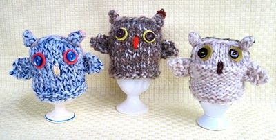 owl egg cosie