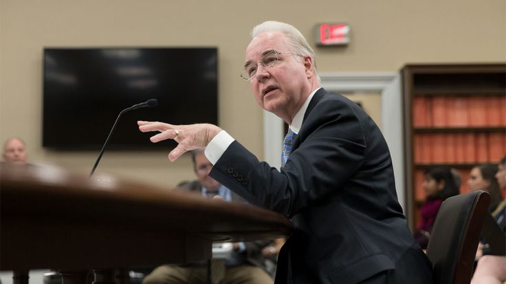 """HHS Secretary Price tells Congress the goal is a """"bigger bang for our buck"""""""