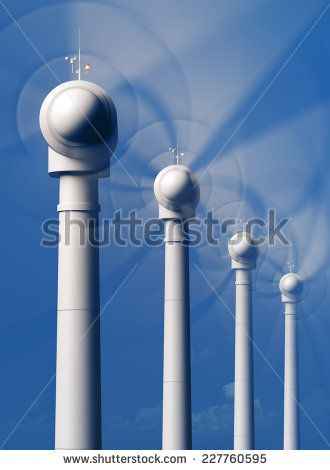 3d Wind Turbines Stock Photos, Images, & Pictures | Shutterstock
