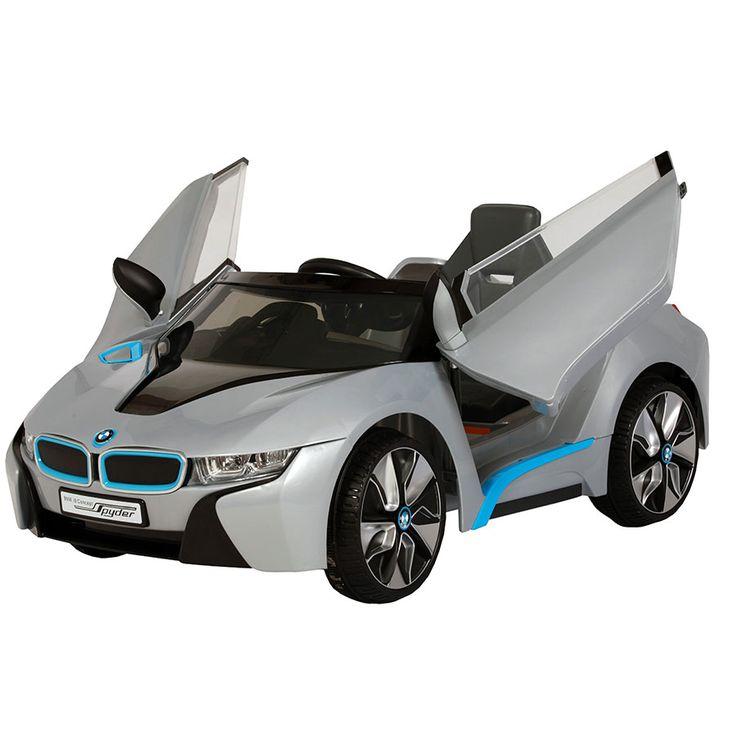 BMW i8 Spyder GT 6V Ride On - Black | Toys R Us Australia