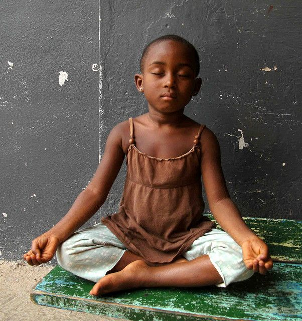 """If every 8 year old in the world is taught meditation, we will eliminate violence from the world within one generation - Dalai Lama - Meditation Ghana by Aaramaa, via Flickr"