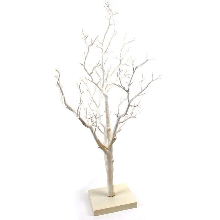 Decorative White Twig Tree 76 cm